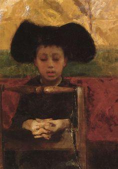 The Little Seminary, Antonio Mancini