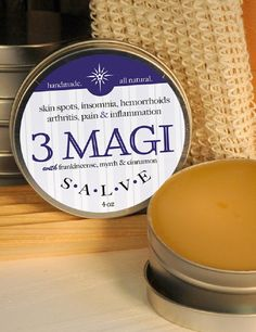 3 MAGI SALVE - All Natural Pain & Inflammation Relief Aid Made in the USA