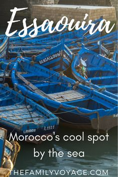#Essaouira might just be the coolest city in #Morocco. CLICK to read and find out why... plus all the best things to do in Essaouira, where to eat in Essaouira and how to get around. #travel #travelplanning #familytravel #Africa