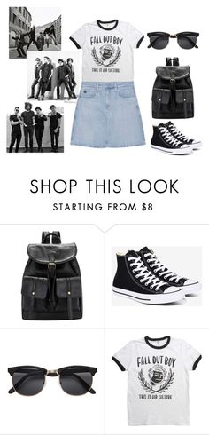 """""""FOB"""" by blackberrybabyblog on Polyvore featuring мода, Converse и AG Adriano Goldschmied"""