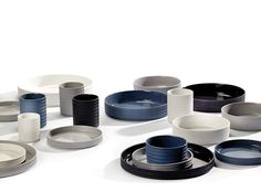 Sigillata Signature Tableware Collection by Chris Mestdagh for Serax