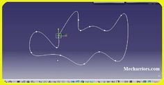 How to use Spline Definition in CATIA V5?