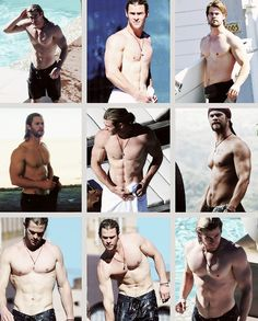 Chris Hemsworth... This is who should play Christian grey in 50 shades of grey