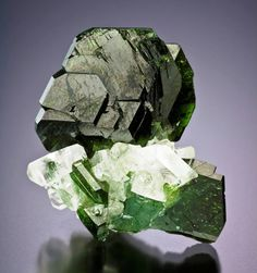 Uvite with Magnesite from Brazil