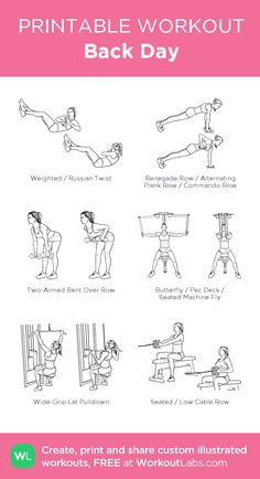 Workout plans, The best work-out advice. For another effective to result oriente. - Workout plans, The best work-out advice. For another effective to result oriented workout tip, chec - Back And Bicep Workout, Back And Shoulder Workout, Full Body Dumbbell Workout, Back Workout Women, Biceps Workout, Back And Biceps, Gym Workouts, Shoulder Workout Women, Gym Back Workout