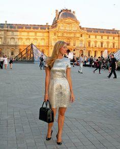 Tara Jarmon, Pink Bubbly blog, Chanel, Christian Louboutin, Kate Spade, Paris, Louvre, fashion blog