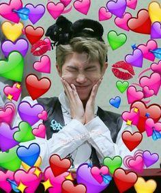 56 Ideas for memes apaixonados bts Namjoon, Kpop, Bts Emoji, Sapo Meme, Bts Cute, Foto Jimin, Bts Meme Faces, Heart Meme, Heart Emoji