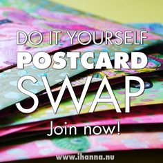 Join iHanna's DIY Postcard Swap 2019 | iHanna's Blog