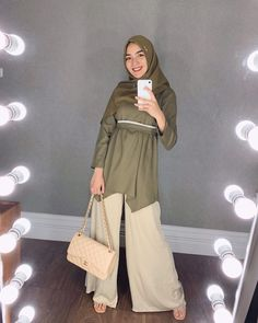 Many people believe that there is a magical formula for home decoration. You do things… Modern Hijab Fashion, Hijab Fashion Inspiration, Muslim Fashion, Modest Fashion, Fashion Outfits, Casual Hijab Outfit, Hijab Chic, Ootd Hijab, Pants Outfit