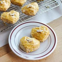 1. Almond scones with Grand Marnier glaze | 41 Scrumptious Ways To Make Scones For Your Sweetie