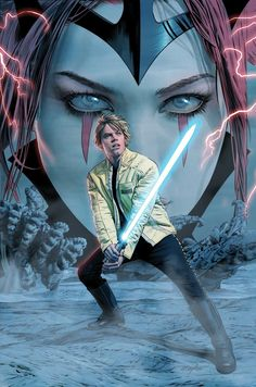 Mile High Comics Variant cover art by Mike Mayhew for 'Star Wars: The Screaming Citadel' part 1 of 5 interlocking covers, published May 2017 by Marvel Comics. Star Wars Jedi, Star Wars Art, Star Wars Comics, Marvel Comics, Midtown Comics, Star Wars Luke Skywalker, Anakin Skywalker, Star Wars Books, Star Wars Wallpaper