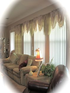 my tea stained waterfall valence and curtains