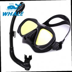 52.59$  Watch here - http://aliiot.worldwells.pw/go.php?t=32655639781 - Whale Swim Equipment Adults Swimming Scuba Diving Tube Professional Scuba Diving Mask Brand Diving Mask Snorkel Set Mirror Lens