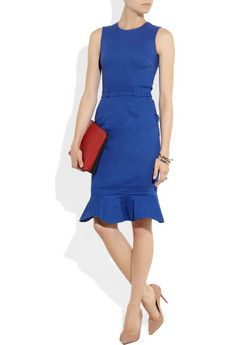 A figure-flattering silhouette from Preen that's perfect for the #MOB