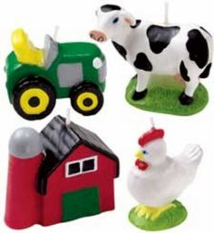 1000 Images About Farm Animals Cake Decorations On