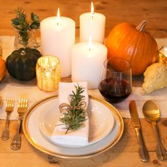 Louise Roe - Chic and Easy Thanksgiving Setting - Lifestyle Tips
