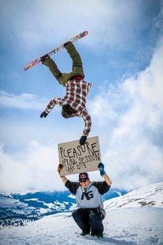 Pleasure. #redbull #snowboarding