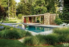 Contemporary Pool by n/a and SPaN in Westport, Connecticut