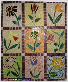 Mosaic Tile Mania - The world's largest selection of hand cut, stained glass mosaic tiles & mosaic supplies. Mosaic Tile Art, Mosaic Pots, Mosaic Artwork, Mosaic Garden, Mosaic Crafts, Mosaic Projects, Mosaic Glass, Mosaic Ideas, Stained Glass