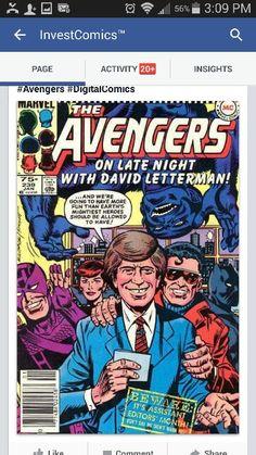 Check out some great comics from yesteryear! David Letterman's first comic book appearance too!  http://investcomics.com/features/investcomics-consigned-to-oblivion-3  #InvestComics #DavidLetterman #Akira #MachineMan #HerbTrimpe #IronMan #Batman #Anime #Manga #Mephisto #XMen #XFactor #Avengers #DigitalComics