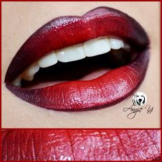 Red Lips www.angieyartstyle.com #red #lips #colour #sexy #look