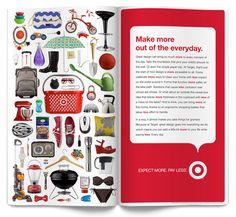 Target Design Ads by Marta Harding, via Behance