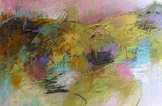 "Lavender Sky by Debora L. Stewart, pastel on paper, 15"" x 22"""