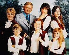 The Partridge Family.  This show, probably taken from the real live family band the Cowsills, had everyone watching as the single mother raised a gaggle of five kid and touring around singing with them in a mod bus. David Cassidy was the one that the girls all wanted to see each week as he crooned out a love song. He and Shirley Jones were the only musical people allowed to actually sing.  Danny Bonaduce was really the glue that held the show together.