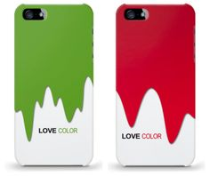 caseable color phone cases - fun for the holidays (but you can use all year long)