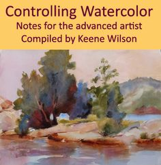 Controlling Watercolor: Notes for the advanced artist compiled by Keene Wilson