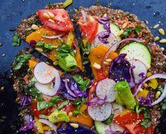 Buckwheat Crust Pizza - Food by Maria