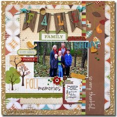Harvest Lane by Simple Stories.  I love the Fall banner!