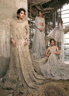 Sana Safinaz Bridal Wear Collection Winter Sale Bridal Dresses Ultimate Guide to Buying Dress by sana safinaz. Sana Safinaz Diffusion gown and Couture Bridal Catalog Beautiful Bridal Dresses, Pakistani Bridal Dresses, Pakistani Wedding Dresses, Pakistani Outfits, Indian Outfits, Indian Bridal Fashion, Asian Fashion, Pakistan Bridal, Pakistani Couture
