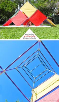 Exploring Architecture With Kids Through Forts