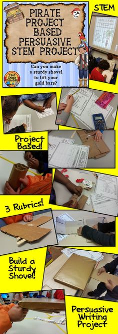 Project-based, problem-based, STEM, and persuasive writing all rolled into one great project! This isn't just a regular STEM project; it's a week's worth of cross-curricular activities designed to stimulate your students' thinking! $