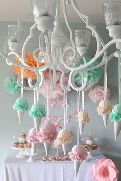 Ice Cream Cone decorations