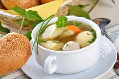 Cheeseburger Chowder, Thai Red Curry, Mashed Potatoes, Brunch, Soup, Dinner, Ethnic Recipes, Petra, Foods