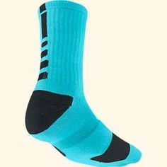 wholesale dealer 38d9e d05a7 NWT NIKE Elite Cushioned Basketball Socks Crew Blue Mens 6 7 8 Womens 6 7 8  910 Need this for playing soccer