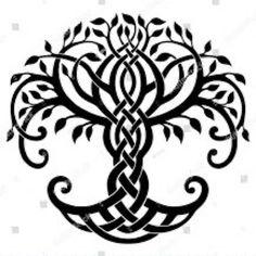 Keltische Muster/Knoten Vector illustration, ornamental Celtic tree of life Article Physique: It is Tree Of Life Images, Tree Of Life Artwork, Tree Images, Celtic Symbols, Celtic Art, Celtic Mandala, Mayan Symbols, Celtic Dragon, Celtic Knots