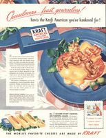 Kraft American Process Cheese 1947 Ad Picture