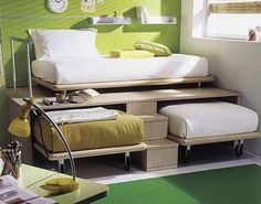 Great idea for a bed.