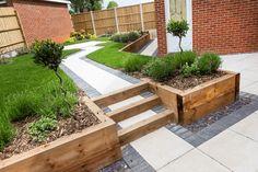 67 New Ideas Backyard Fence Diy Walkways - Fencee Back Gardens, Small Gardens, Outdoor Gardens, Garden Design Plans, Small Garden Design, Fence Design, Backyard Fences, Front Yard Landscaping, Diy Fence