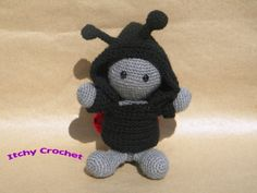 Inchoate Ladybird/Ladybug Crochet Kit by ItchyCrochetDesigns