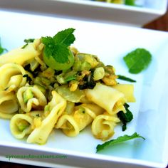 Cooking & Traveling in Italy: Gigli with Grapes, Zucchini & Mint