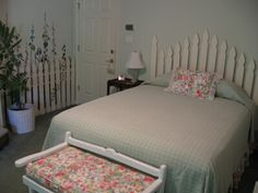 another picket fence headboard