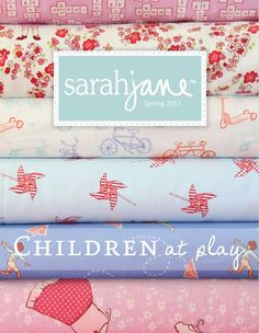Grace Designs: Sarah Jane Fabric - Children at Play