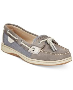 A classic from the seashore to the city. Sperry's Dunefish boat shoes feature unique knotted laces and comfort technology with timeless style. | Leather upper; rubber sole | Imported | Round closed-to