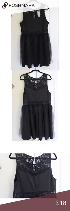 Forever21 Black Lace & Tulle Cocktail Dress This dress is new with its original tags and is a great staple in any closet! The top has floral lace, along with the band around the waist where skin peeps through. The skirt of the dress has a layer of tull http://www.wartalooza.com/treatments/nail-polish