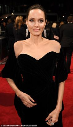 Standing in solidarity: The actresses wore black in solidarity with the Time's Up movement...