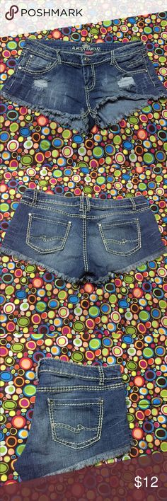 Almost Famous Jean shorts Almost Famous blue cutoff Jean shorts Almost Famous Shorts Jean Shorts